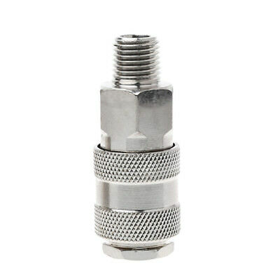 1 Pc Euro Air Line Hose Connector Fitting Female Quick Release 1/4 Inch BSP Male