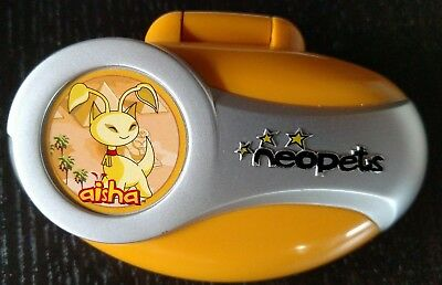 Neopets Aisha Hand Held Game by Tiger