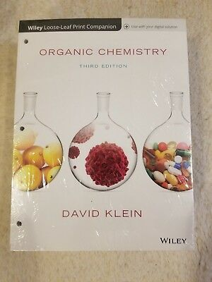 Organic Chemistry 3rd Edition Binder Ready Version with WileyPLUS & Study Guide