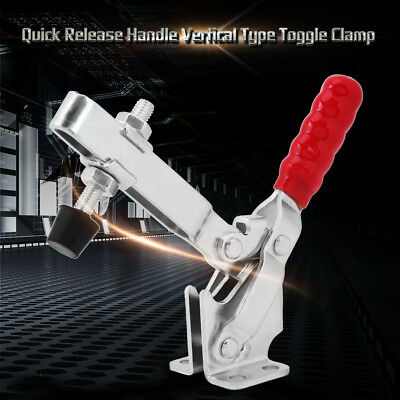 New Anti-slip Handle Toggle Clamp Quick Release Fixture Hand Tool 227KG ams