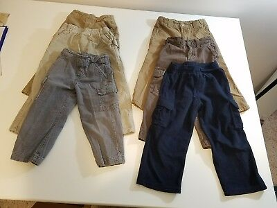 Lot of 6 Pairs of Boys Pants, Size 3t