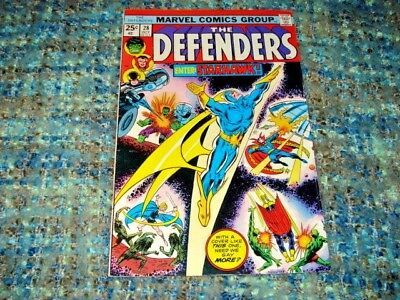 The Defenders #28 First Appearance Of Starhawk Mid-Grade Plus Condition