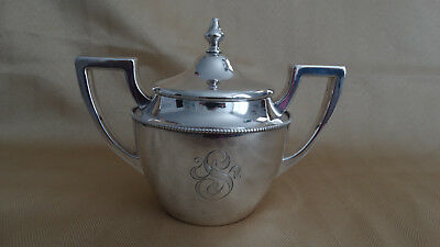 Sterling Covered Sugar Bowl from Shreve & Company, San Francisco