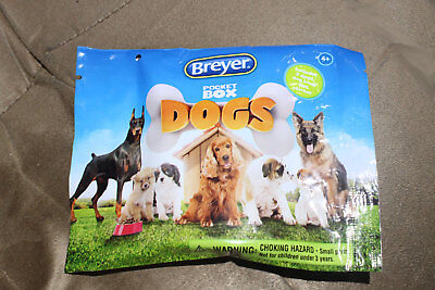 Breyer Pocket Box Dogs - Sealed in Bag - Collie and Bracco Italiano Dogs Inside!
