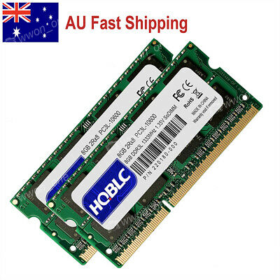 AU 16GB KIT 2x8GB PC3L-10600S DDR3L-1333MHz Memory for Mac mini Mid-2011 A1347