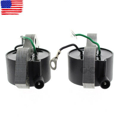 2 x Ignition Coils for Johnson Evinrude 1.5hp 2hp 3hp 4hp 5hp 5.5hp CDI 183-4477