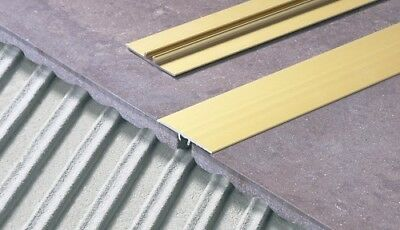1.8 m FLAT ALUMINIUM DOOR FLOOR EDGING BAR-TRIM-THRESHOLD- 35mm - various : door floor trim - pezcame.com