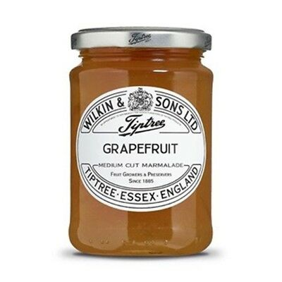Tiptree English Marmalade, Grapefruit Marmalade, (2 Jars x 340g)
