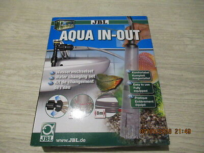 JBL Aqua In-Out Complete Set Water EXCHANGE With Sediment Bell Aquarium Cleaning