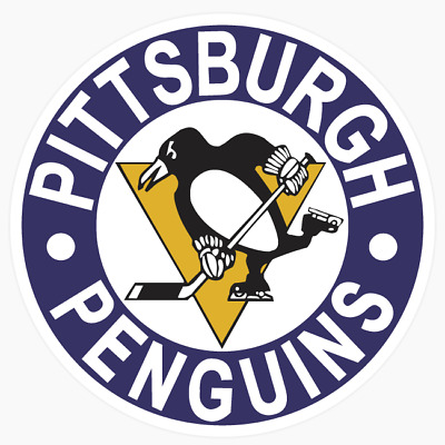 Pittsburgh Penguins Primary #1 Logo NHL DieCut Vinyl Decal Buy 1 Get 2 FREE