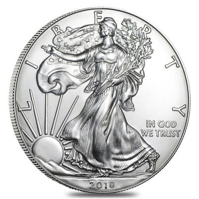 2018 1 Oz. Silver American Eagle $1 Coin - ***fast Shipping Starts Next Week***