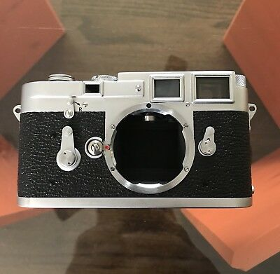 Leica M3 Double Stroke Fully Serviced 1955 #781