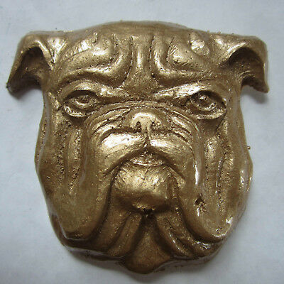 vintage Old Mack Truck LOGO Emblem raised RESIN Bulldog Mold Custom Rat Rod