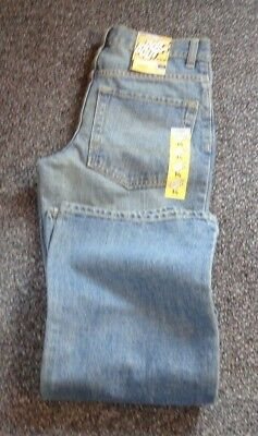 Nwt Old Navy Boys Size 14R  Jeans Boot Cut  Adjustable Waist Straight Fit