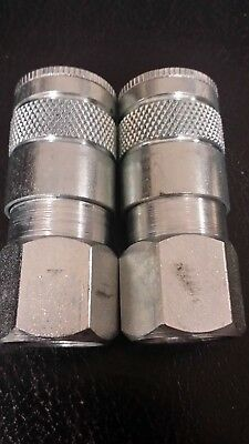 New Lot Of 8 Parker 15F Tru-Flate-Automotive Quick Coupler Body Free Shipping
