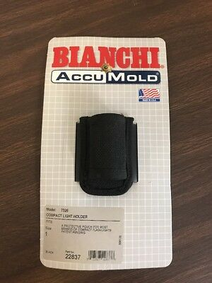 Bianchi 22837 7326 AccuMold Nylon Scorpion & Surefire 6P/R Flashlight Holder