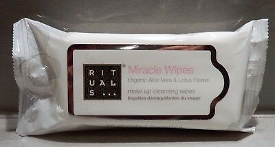 ** Rituals ** Miracle Wipes ~ make up cleansing wipes ~