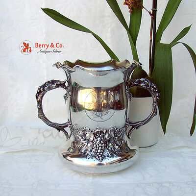 University Of Pennsylvania Medical School Presentation Cup 1902 Sterling Silver