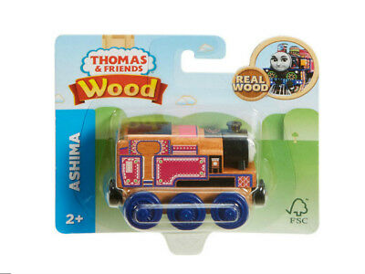ASHIMA TRAIN '2018 NEW DESIGN' Thomas and friends wooden track set engine FHM36