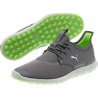 af40f001b24a New - Puma Ignite Spikeless Sport Mens Golf Shoes - Pearl Silver Green-