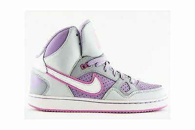 SCARPE SON OF FORCE MID GS 616371 007 DONNA BAMBINA GRIGIO GREY air force mid