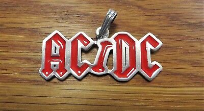 AC/DC Back in black Thunderstruck TNT Malcolm Young Black Ice Anhänger Metall