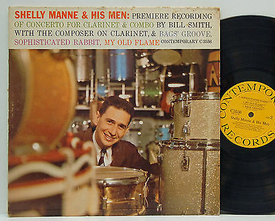 Shelly Manne & His Men    Concerto for Clarinet       Contemporary       DG # 63