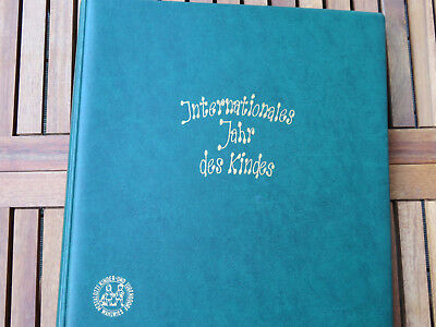 Internationales Jahr des Kindes 1979 Top Album Briefmarken