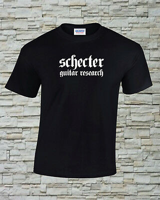 Schector Guitar Research Printed T-Shirt Size, Print and Color Choice (2)