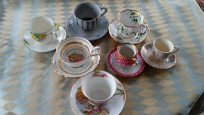 Vintage/Antique China Tea Cup Lot of 7