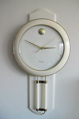 Vintage Mod Regency Style KIRCH Acrylic Wall Clock
