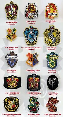 HARRY POTTER NEW COLLECTION Iron Sew on Embroidered Patches