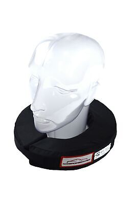 Racing Helmet Neck Support Black 360 Circle Adult Neck Brace Sfi Rated