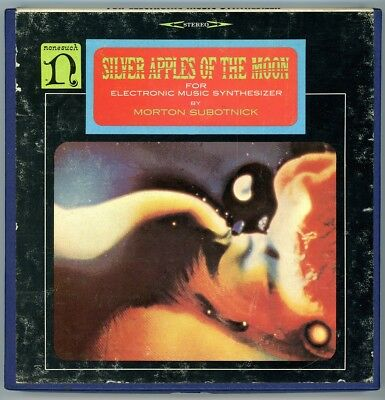 """Morton Subotnick """"Silver Apples of the Moon"""" Nonesuch NSE 1174 Ampex 3.75 ips"""