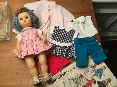 Tiny Terri lee doll /vintage 1950's / pretty and cute, with tagged clothing