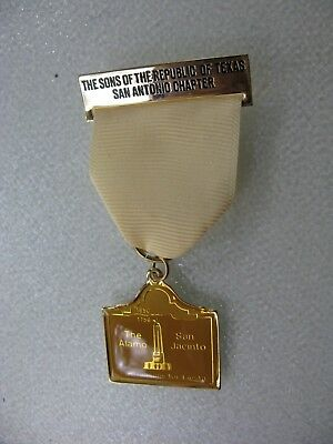 San Antonio Fiesta Medal Sons of the Republic of Texas 2 Reasons for Fiesta