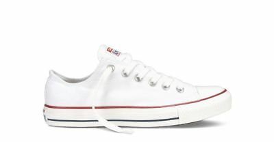 best website 2bec2 90010 SCARPE CONVERSE ALL STAR CHUCK TAYLOR bianco basse OPTICAL WHITE M7652C  original
