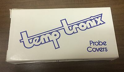 *** Temp Tronix Probe Covers, 25 Box/Case, 20 Probe covers each box, NEW **
