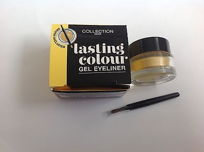 COLLECTION 2000 Lasting colour Gel Eyeliner GOLD with brush