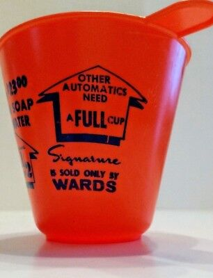 Vintage Advertising Laundry Cup Montgomery Wards Signature Soap