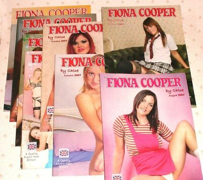 Fiona Cooper Magazines, collection of 8 from 2007.  V.G.C.