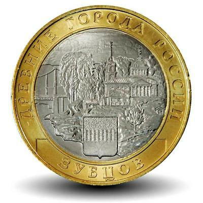 Russia 10 rubles 2016 Zubtsov (Series: Ancient Towns) UNC FREE SHIPPING!
