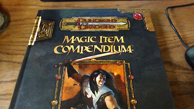 D and D Supplement: Magic Item Compendium by Wizards Team Staff (2007, Hardcover
