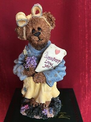 """Boyds Bears, """"Abby T. Bearymuch.Yours Truly"""" Romance, #227742 NIB VALENTINES DAY"""