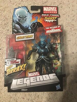 Marvel Universe New Marvel Legends Ghost Rider NIB (Blue)