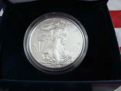 2011 1 oz Silver American Eagle BRILLIANT UNCIRCULATED FROM MINT ROLL