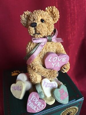 """Boyds Bears, """"Andy B. Truelove"""", 2001, NIB, #82020   GREAT FOR VALENTINES DAY !!"""