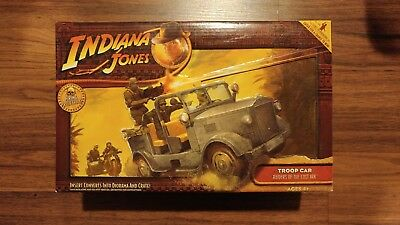 Indiana Jones Raiders of the Lost Ark Hasbro German Troop Car MIB 2008