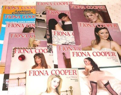 Fiona Cooper Magazines, complete collection of 13 from 2008.  V.G.C.