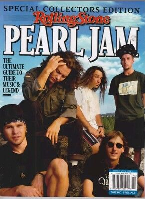 Pearl Jam Rolling Stone Ultimate Guide Spec Collectors Edition 2017 Magazine